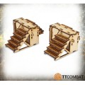 Iron Labyrinth Stairs 0