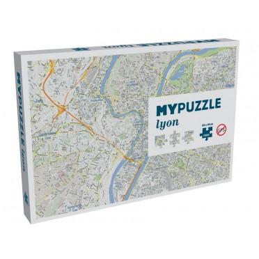 Mypuzzle Lyon - 1000 Pièces