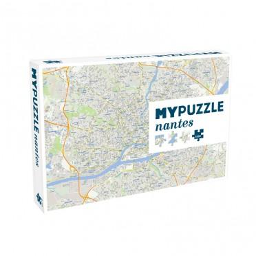 Mypuzzle Nantes - 1000 Pièces
