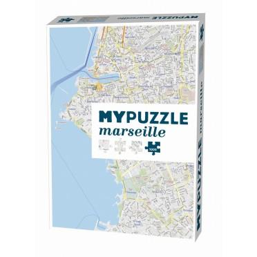 Mypuzzle Marseille - 1000 Pièces