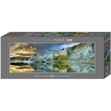Puzzle - Blue Lake Panoramique - 1000 pièces