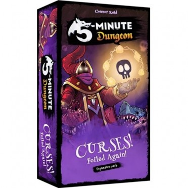 5 Minute Dungeon : Curses Foiled Again Expansion