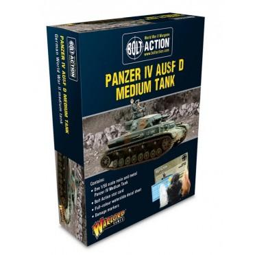Bolt Action - German Panzer IV Ausf D Medium Tank