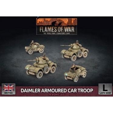 Flames of War - Daimler Armoured Car Troop