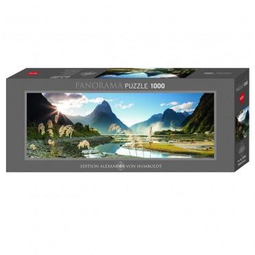 Puzzle - Milford Sound Panoramique- 1000 pièces