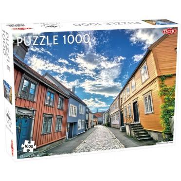 Puzzle - Trondheim Old Town - 1000 pièces