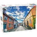 Puzzle - Trondheim Old Town - 1000 pièces 0