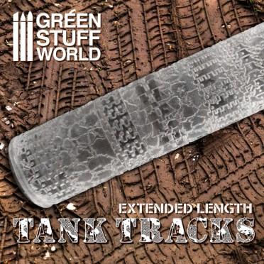 Buy Rolling Pin Tank Tracks Miniatures games Green