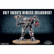W40K : Adeptus Astartes Grey Knight - Nemesis Dreadknight