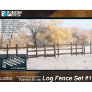 Rubicon Scenery: Log Fence Set 1