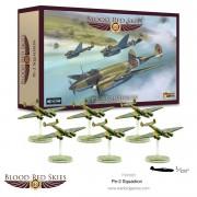 Blood Red Skies - Soviet- Petliakov Pe-2 squadron, 6 planes