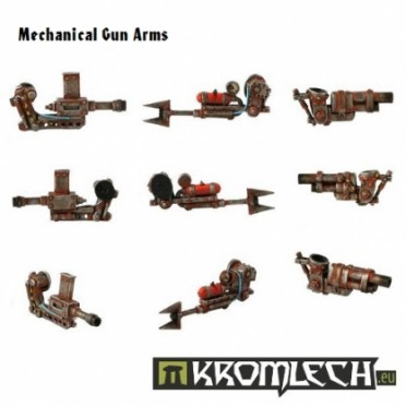 Mechanical Gun Arms