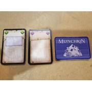 Boite de Munchkin : Cartes Vierges