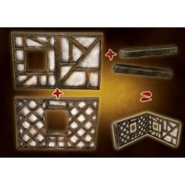 Khârn-Âges - Mur à colombage