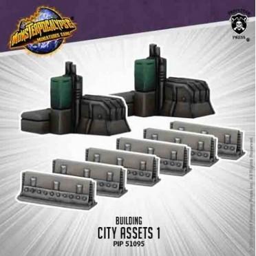 Monsterpocalypse - Buildings - City Assets 1