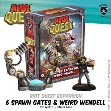 Riot Quest - Spawn Gates & Weird Wendell
