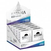 Lot de 10 paquets de 100 Sleeves Katana : Noir