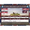 Flames of War - Vickers MMG Platoon 5