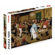 Puzzle - Brueghel - Repas de Noces -1000 pièces