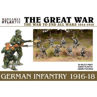 German Infantry (1916-1918)