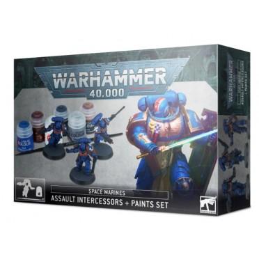 W40K : Paint Set - Intercessors d'Assaut