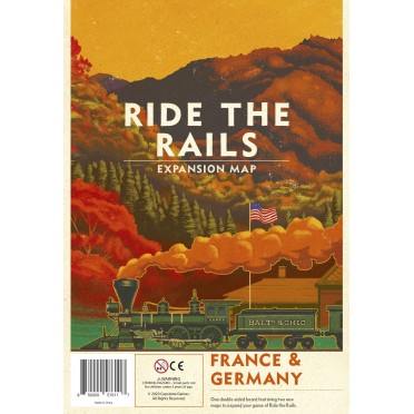 Ride the Rails : France & Germany Expansion