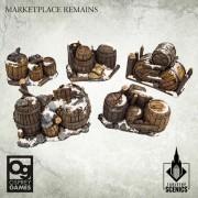 Décors Officiels Frostgrave - Marketplace Remains
