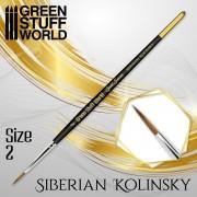 Gold Séries : Pinceau Kolinsky Sibérien - 2