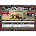 Flames of War - Armoured SS Panzergrenadier Company HQ 8