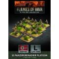 Flames of War - SS Panzergrenadier Platoon 0