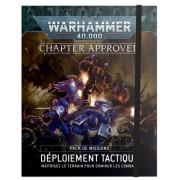 """W40K : Chapter Approved - Pack de Missions """"Déploiement Tactique"""""""