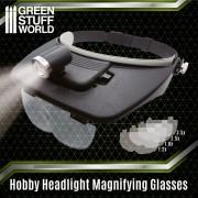 Light Head Magnifying Glasses