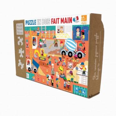 Puzzle - Le Chantier - 12 Pièces
