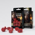 Classic Runic Red & blue Dice Set (7) 1