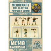 Dust - Mercenary Multi-Option Infantry Squad