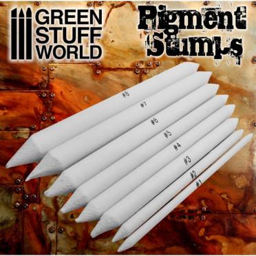 Set de 8 Estompes pour Pigments