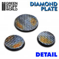 Rolling Pin Diamond Plate - Small 2