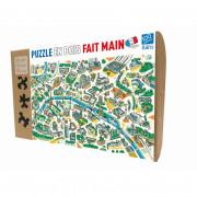 Puzzle - Paris Labyrinthes - 100 pièces