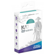 Ultimate Guard 60 pochettes Katana Sleeves format japonais Turquoise