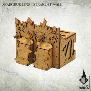 Skargruk Line - Straight Wall
