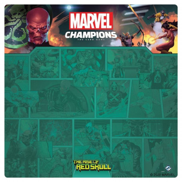 Rise of Red Skull Game Mat