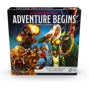 Dungeons and Dragons - The Adventure Begins