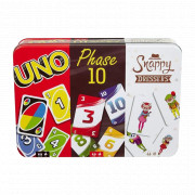 Coffret Multicartes : Uno/Phase10/Snappy Dressers
