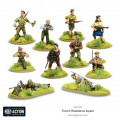 Bolt Action - French Resistance Squad 1