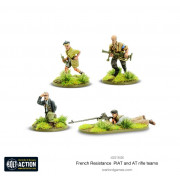 Bolt Action - French Resistance PIAT and Anti-Tank Rifle Teams