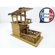 Xykit Dice Tower: Wooden Fort