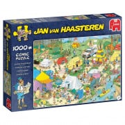 Puzzle - Jan van Haasteren - Camping in The Forest - 1000 pièces