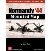 Normandy '44 - Mounted Map