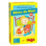 Mes premiers jeux - Mémo : Maxi et ses peluches