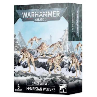 W40K : Adeptus Astartes Space Wolves - Fenrisian Wolves